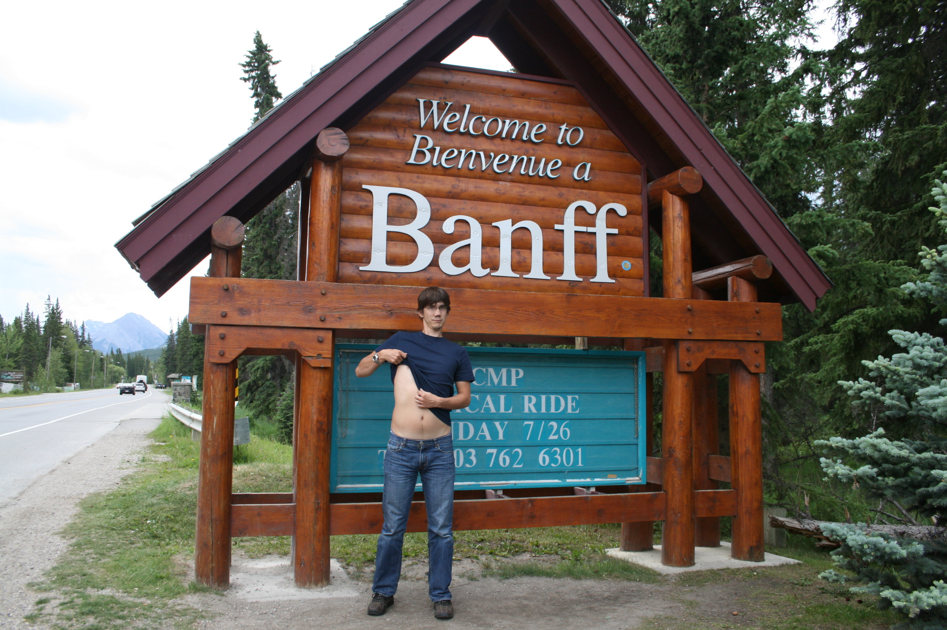 Mike Goes To Banff
